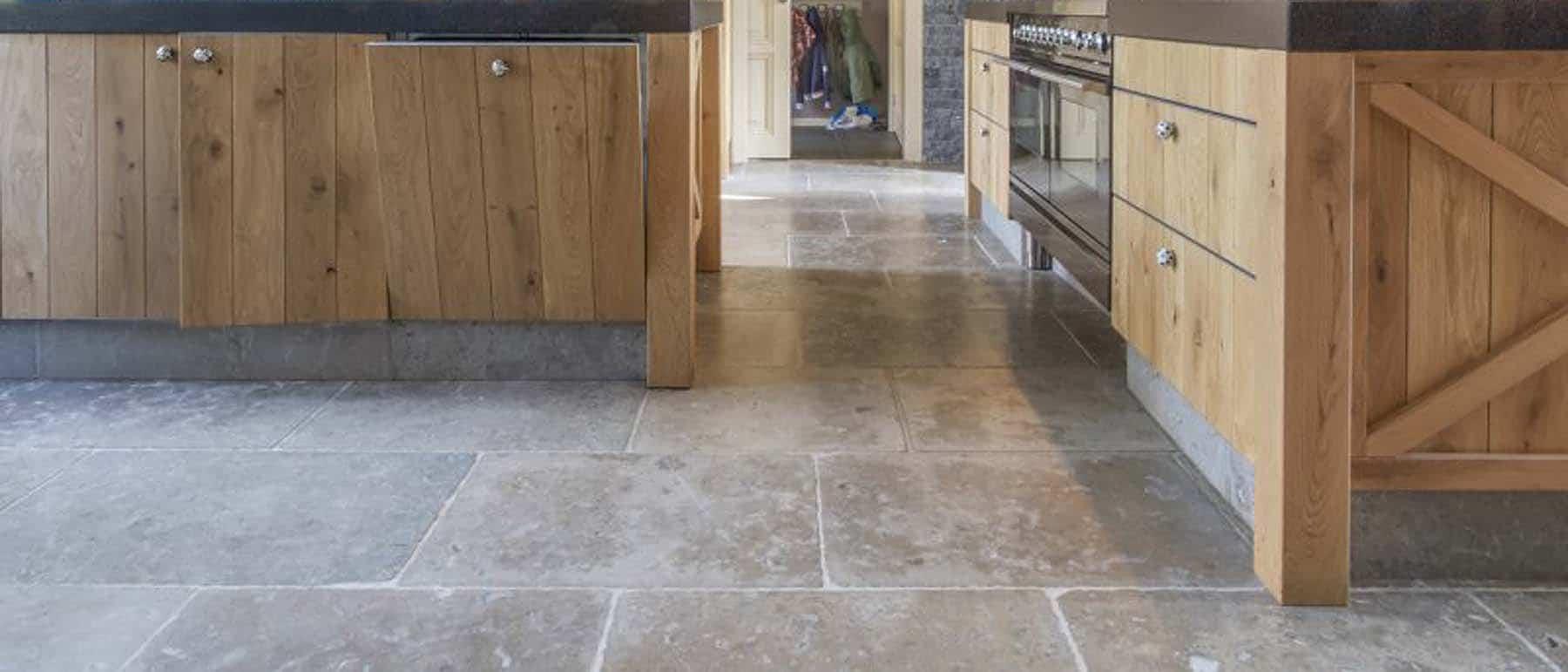 Tumbled Stone Flooring