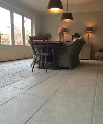 Chastel Gris Aged Antique Stone Floor