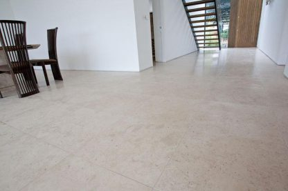 Aragon Beige Limestone Honed Stone Floor