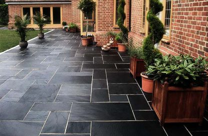 Black Brazilian Slate Cleft