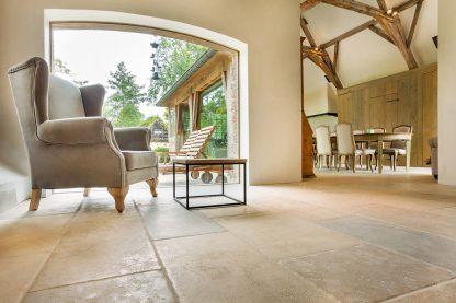 Chastel Aged Antique Stone Floor