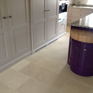 Dorset Limestone Brushed Stone Floor