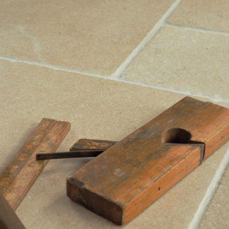 Dorset Sand Tumbled Stone Floor