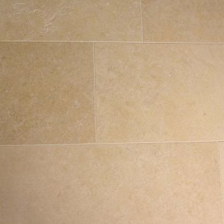 Golden Shell Limestone Honed Stone Floor