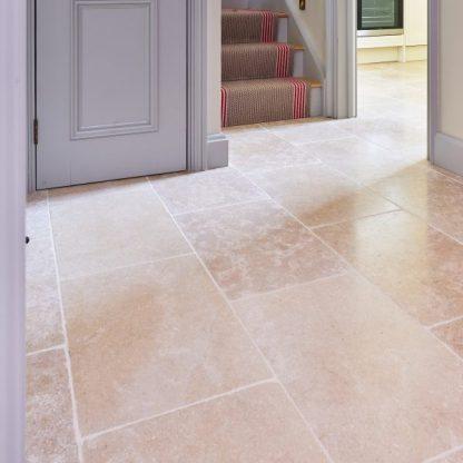 Hamlet Limestone Tumbled Stone Floor