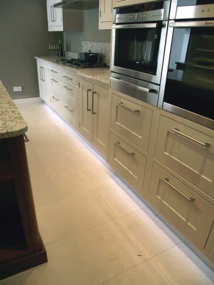 Malham Tumbled limestone floor