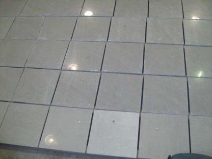 Modena Grey Limestone Honed Stone Floor