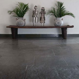 Nisse Grey Flagstone Stone Floor