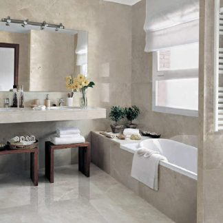 Pearl Grey Polished or Honed Marble Flooring
