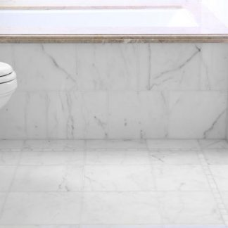 Sugar White Polished Marble Flooring