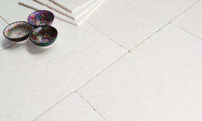 Branco Tumbled Stone Floor